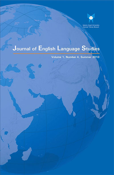 Journal of English Language Studies